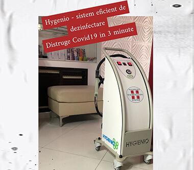 HYGIENIO – Distruge coronavirusul in 3 min